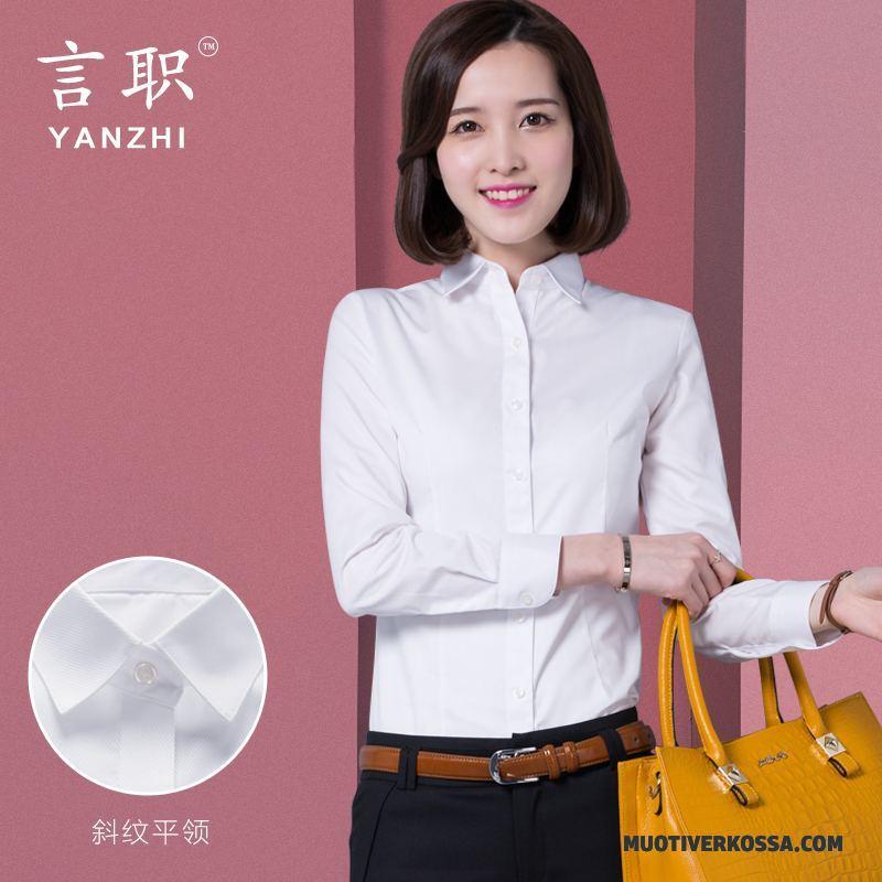 Koszule damskie Duży Rozmiar Długi Topy Z Długim Rękawem