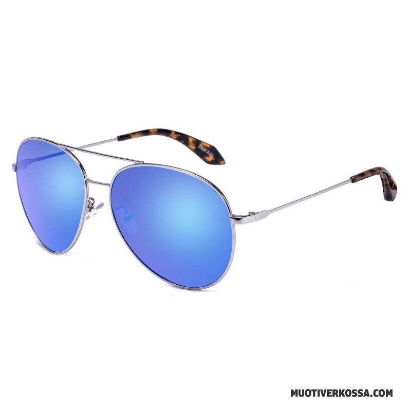 okulary przeciwsłoneczne niebiesko żółte okrągłe, tanio