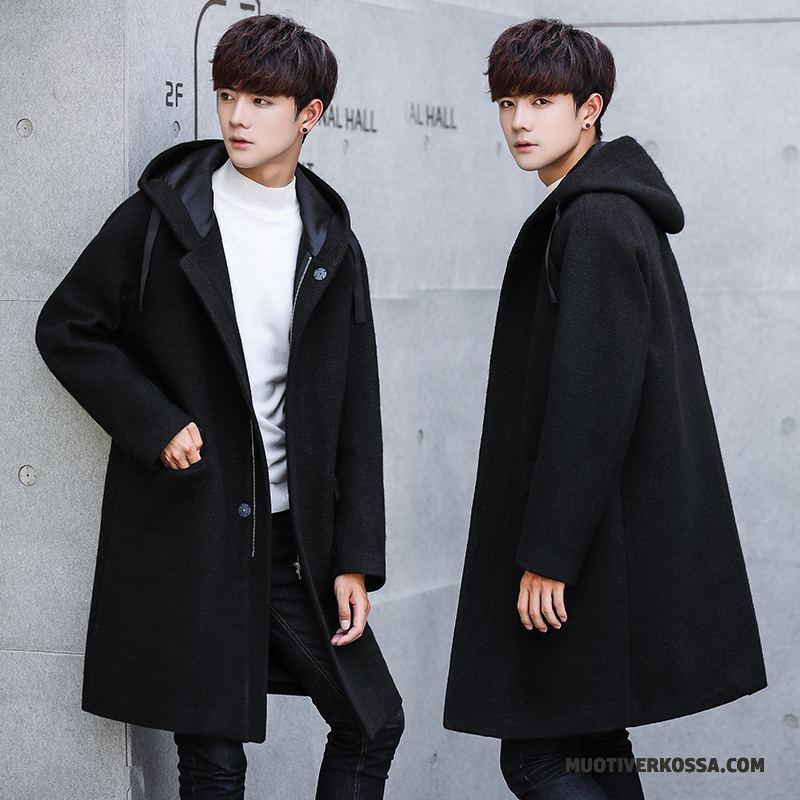 płaszcz czarny męski