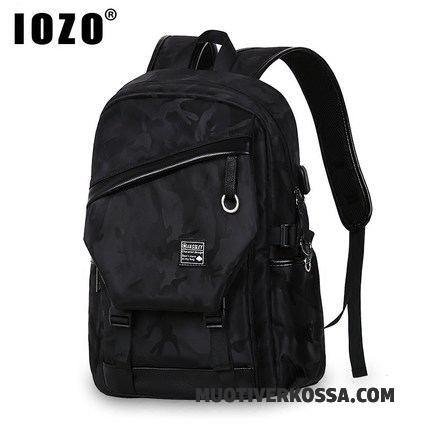 1f59c72771d13 Plecak Męskie Młodzież Tornister Szkolny Student Liceum Wielki Moda  Kamuflaż Czarny Sprzedam