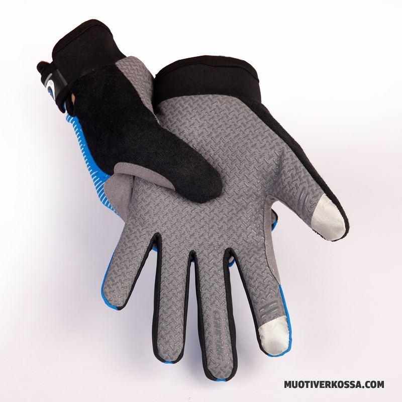 04020b1f672937 Rękawiczki Męskie Jesień Outdoor Antypoślizgowe Sportowe Ochrona Przed  Słońcem Wędkarstwo Szary